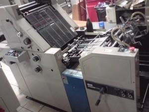 Ryobi 3300 offset printer